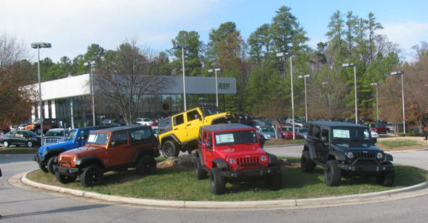 unlimited suvs and accessories for sale in stock in cary nc serving