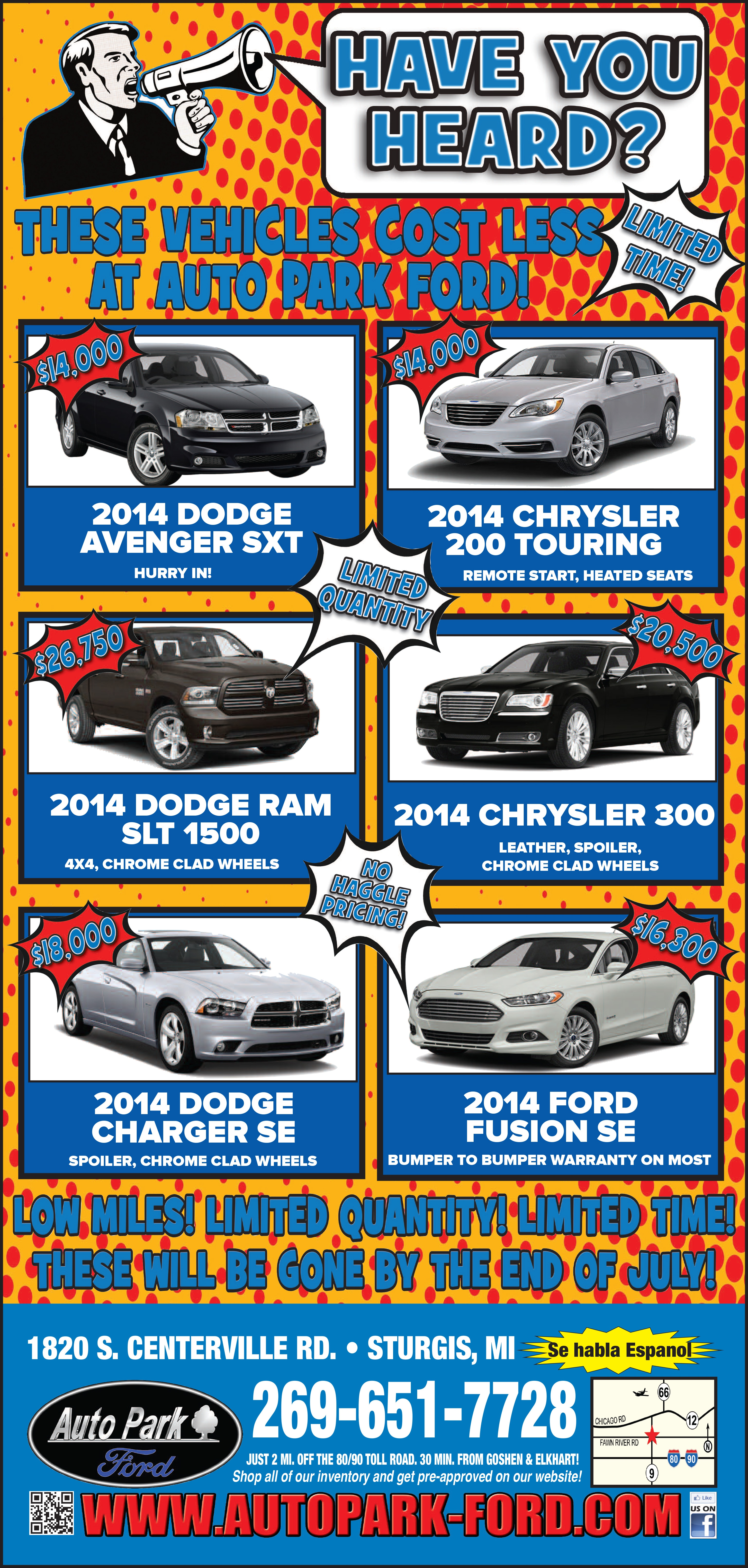 Auto Park Ford Sturgis Mi >> Auto Park Ford   New Ford dealership in Sturgis, MI 49091