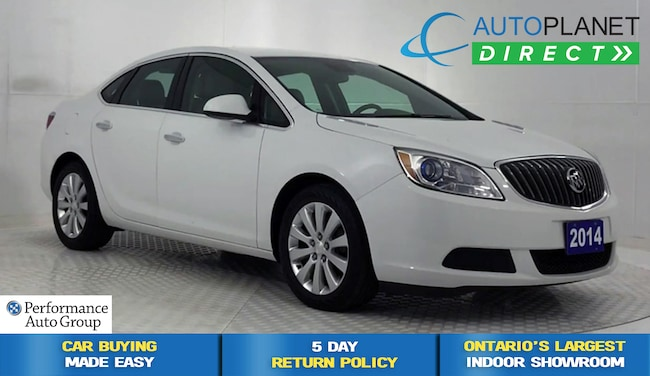 2014 Buick Verano , Bluetooth, One Owner, Ontario Vehicle! Sedan