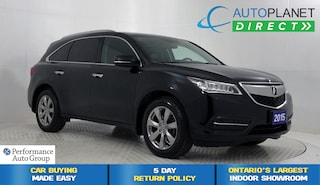 2015 Acura MDX AWD, Elite Pkg, Navi, Back Up Cam, Sunroof! SUV