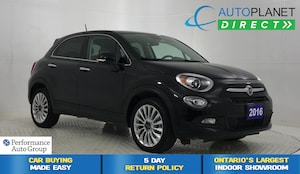 2016 FIAT 500X Lounge, Back Up Cam, Remote Start, Bluetooth!
