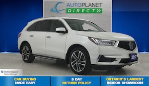 2017 Acura MDX AWD, Technology Pkg, Navi, DVD, Moon Roof!