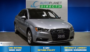 2015 Audi A3 /S3 Quattro, Komfort, Moon Roof, Heated Seats!