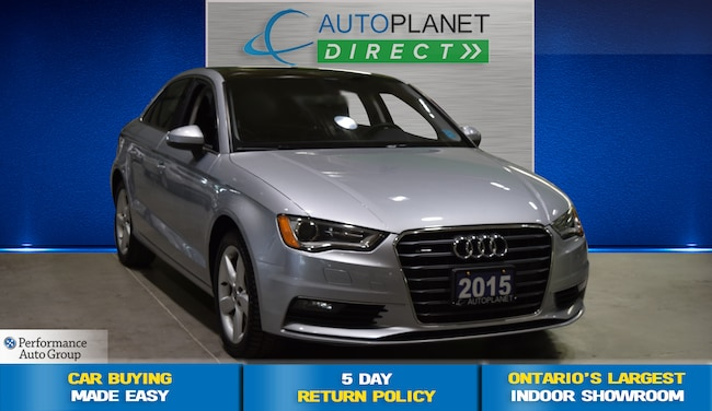 2015 Audi A3 /S3 Quattro, Komfort, Moon Roof, Heated Seats! Sedan