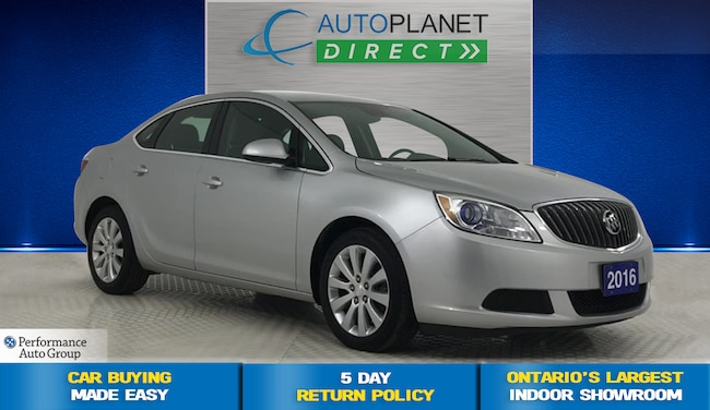 2016 Buick Verano 1SB, OnStar, Clean Carproof, Ontario Vehicle! Sedan
