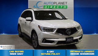 2017 Acura MDX AWD, Elite Pkg, Navi, DVD, Sunroof, Bluetooth! SUV