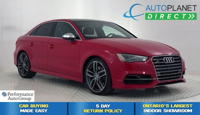 2015 Audi S3 /A3 Quattro, Technik, Navi, Back Up Cam! Sedan