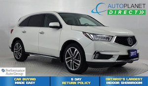 2017 Acura MDX AWD, Navi, Sunroof, Back Up Cam, Remote Start!