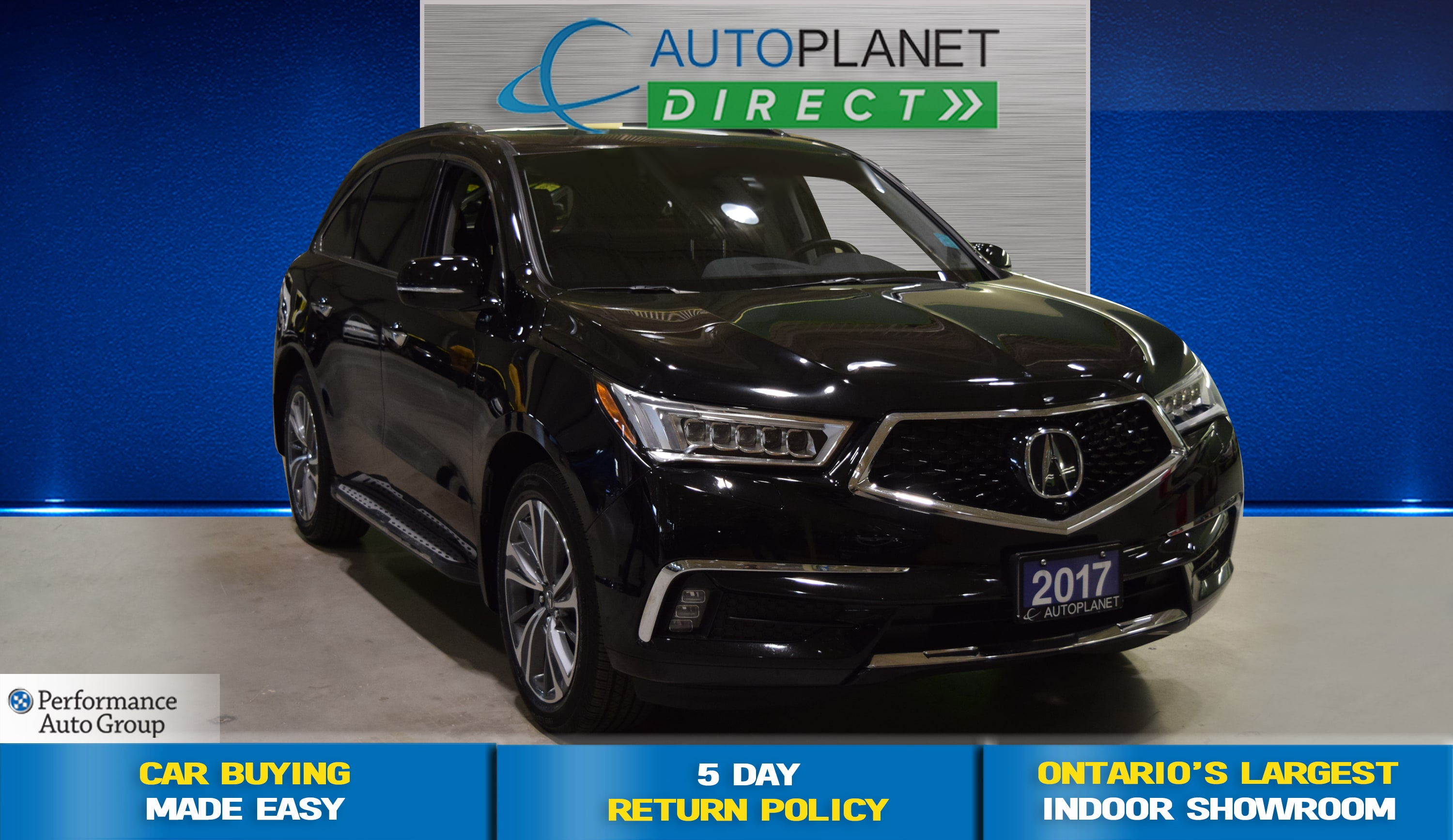 2017 Acura MDX Elite Package AWD, Navi, Surround View Camera! SUV