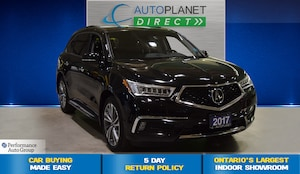 2017 Acura MDX AWD, Elite Pkg, Navi, Surround View Camera!
