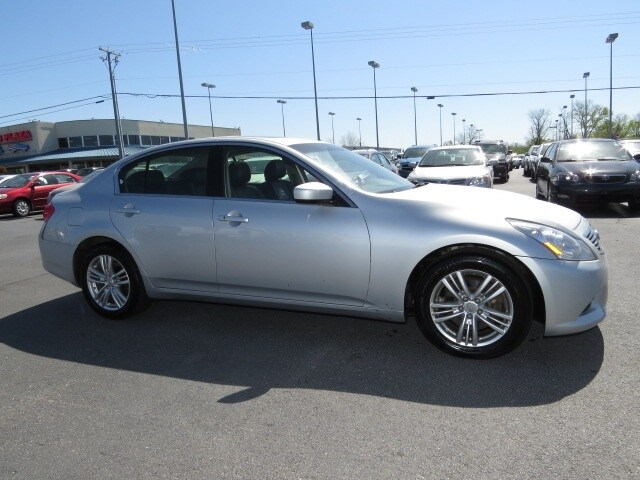 2013 infiniti g37 used 16647 for Plaza motors infiniti service department