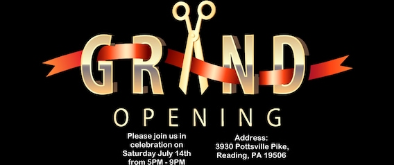 grand opening for autoride used car dealer in reading pa