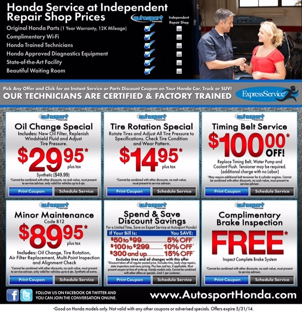 honda service specials new jersey nj honda service deals