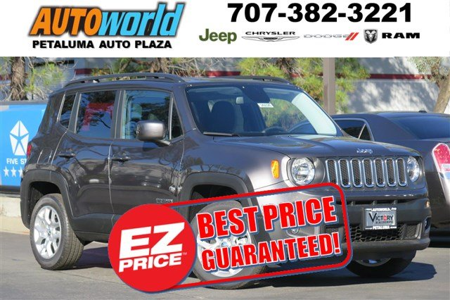 2017 Jeep Renegade Latitude 4x4 SUV 26026