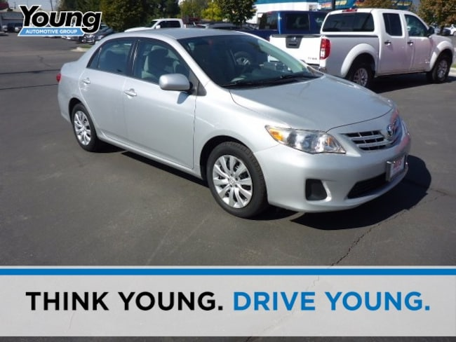 Used 2013 Toyota Corolla Sedan for sale in Ogden, UT at Young Subaru
