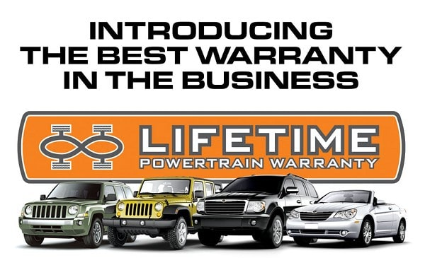 lifetime warranty. Cars Review. Best American Auto & Cars Review