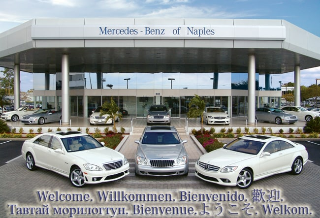 Mercedes benz of naples a unique car shopping experience for Mercedes benz dealers in florida