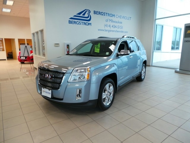 2015 GMC Terrain AWD 4DR SLT WSLT-2 CARFAX guarantees this to be a 1 Owner car The first step in