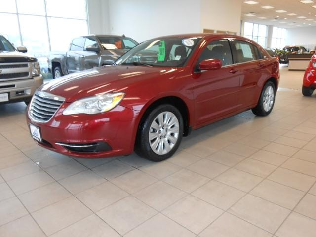 2014 Chrysler 200 4dr Sdn LX CARFAX shows this vehicle as a one owner vehicle We stand behind thi