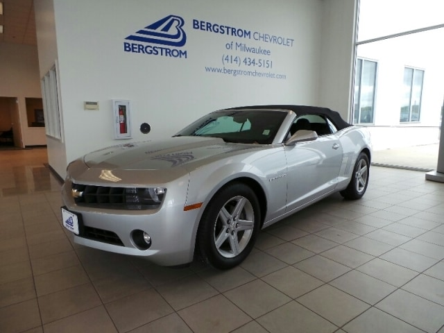 2012 Chevrolet Camaro 2DR Conv 1LT CARFAX for this vehicle shows to be free of issues This vehicl
