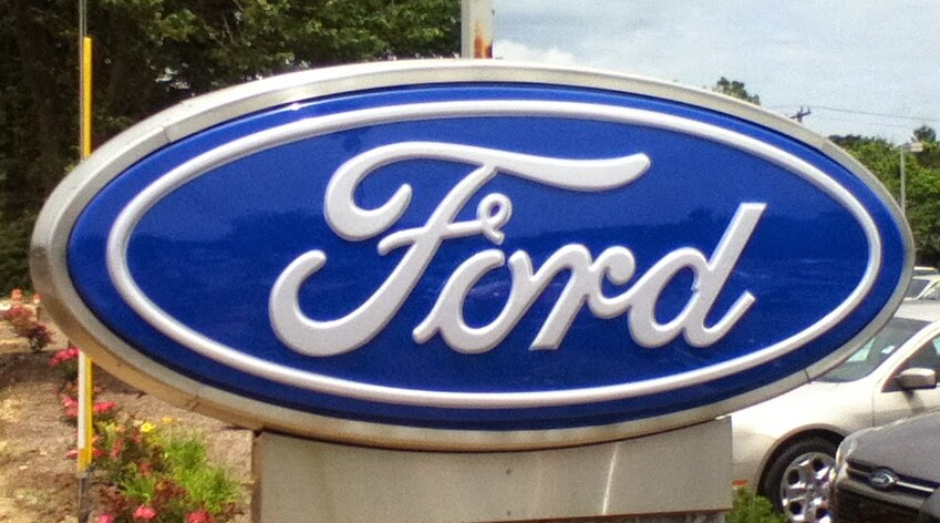 Ford sign at Balise Ford of Cape Cod