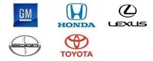 certified to repair Honda, Toyota, Scion, Lexus, & Chevy
