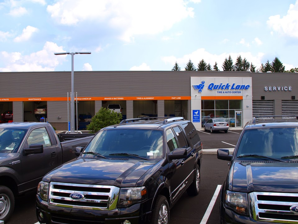 the auto repair center & car service quick lane at Balise Ford in Western Mass