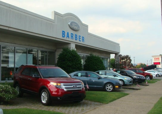 Re Barber Ford Used Cars