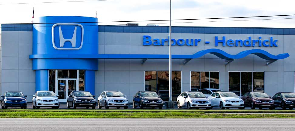 Honda Dealer About Barbour Hendrick Honda Greenville