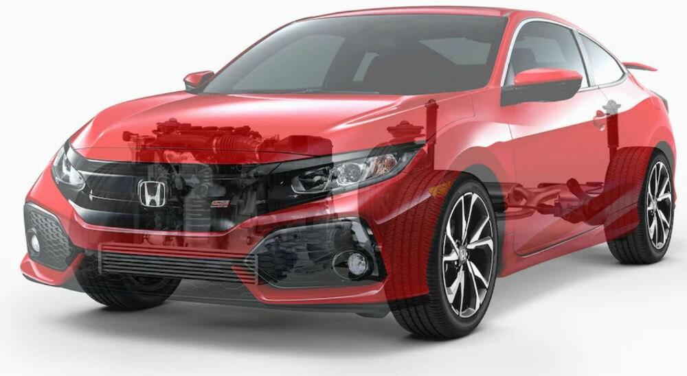 2019 Honda Civic Baron Honda Brentwood,NY 11706