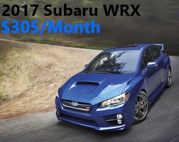 2017 Subaru WRX Lease Offer