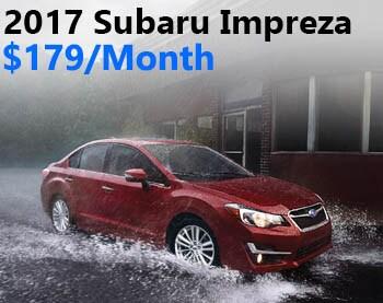 2016 Subaru Impreza Lease Offer