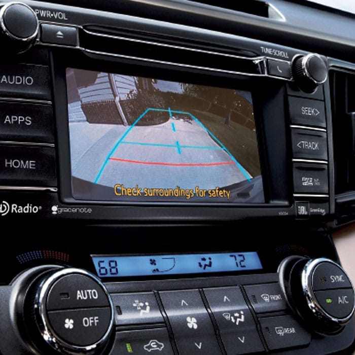 2016 Toyota RAV4 Reverse Camera - Prince Frederick