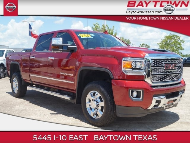 2018 GMC Sierra 2500HD Denali Contact Baytown Nissan today for information on dozens of vehicles li