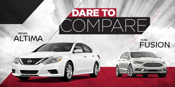 Dare to Compare: Altima vs. Fusion
