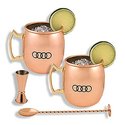 Audi Moscow Mule Drink Set