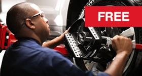 Free Alignment Check in Cincinnati