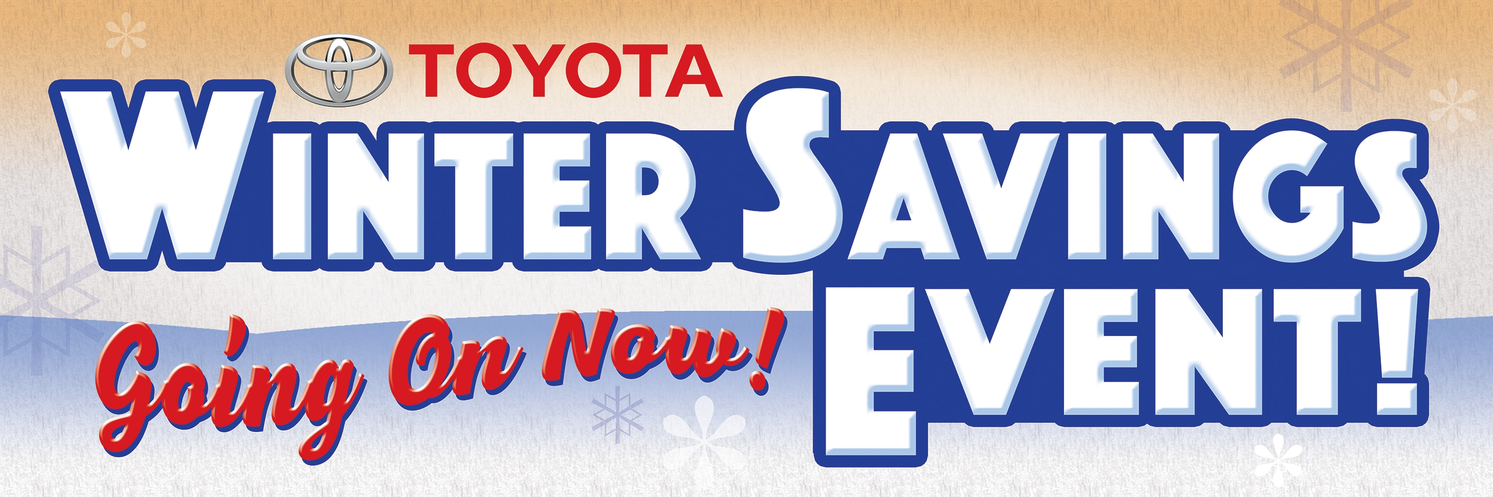 Toyota Winter Savings Event