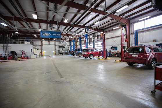 Bell Ford service center