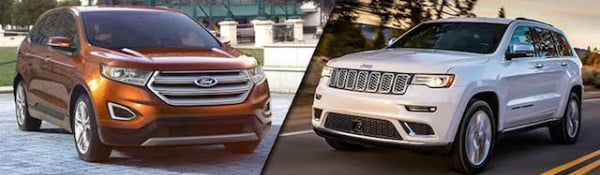 2017 Ford Edge vs Jeep Grand Cherokee
