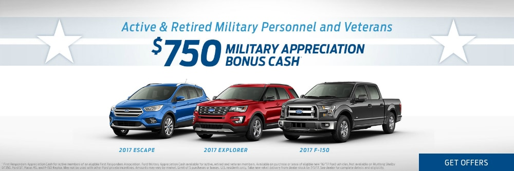 Ford military discount near DeForest