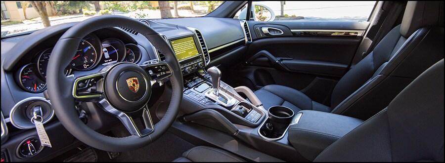 see our inventory of powerful new 2016 porsche cayenne v6 - 2016 Porsche Cayenne Interior