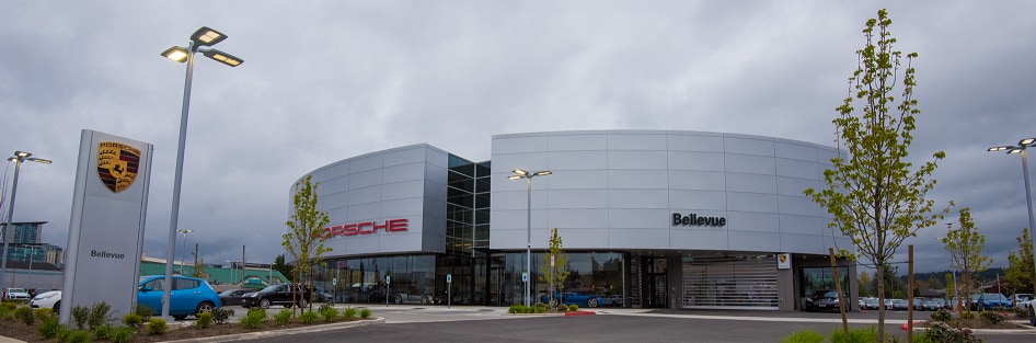 Porsche Bellevue Dealership
