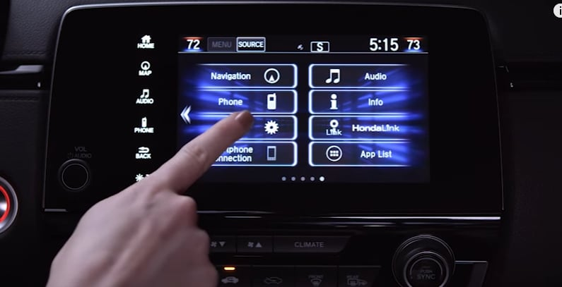 Honda Driver Interface
