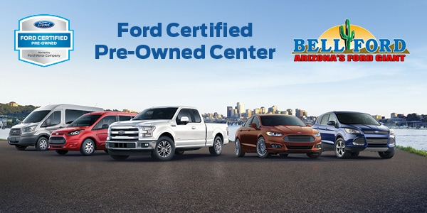 ... AZ area operating on a budget who are not willing to sacrifice quality will no doubt be interested in the certified pre-owned inventory at Bell Ford. & Ford Certified Pre-Owned Center In Phoenix AZ | Bell Ford markmcfarlin.com