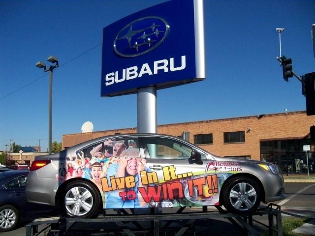 Bennett subaru great falls mt new subaru used car for Bennett motors great falls mt