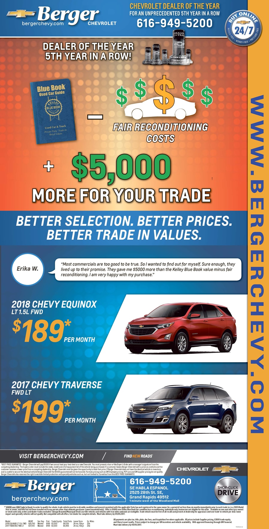 Get The Most For Your Trade At Berger Berger Chevrolet Is