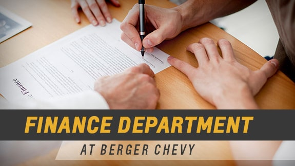 Berger Chevrolet Finance Department