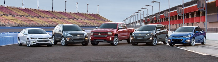 2018 Chevy Lineup