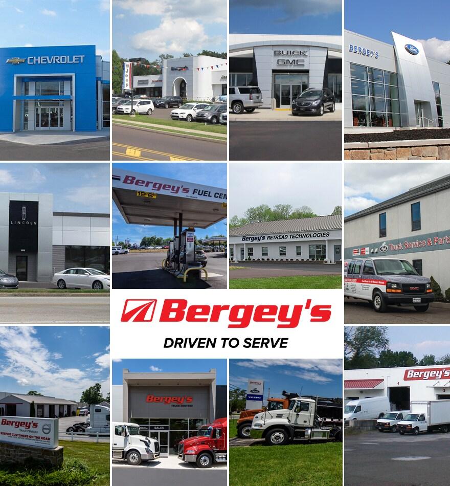 About us bergey 39 s auto dealerships for Golden rule garage door